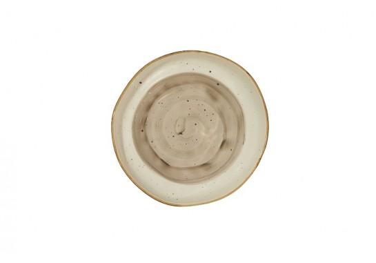 Салатник (16х h7см, 750мл) светло-серый