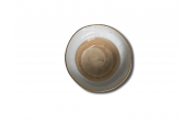 Салатник (16х h7см, 750мл) светло-коричневый