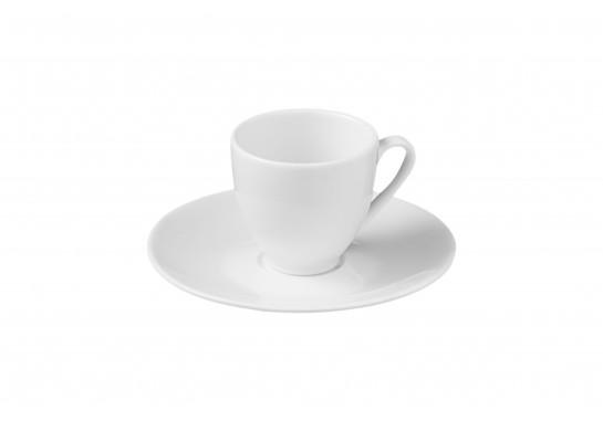 Чашка с блюдцем для эспрессо  80 мл