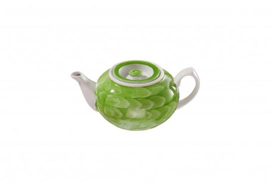 """Чайник """"Орел"""" (450мл) lime 36(2)шт F0951-D-7 (акварель)"""