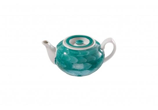 """Чайник """"Орел"""" (450мл) turquoise 36(2)шт F0951-D-1 (акварель)"""