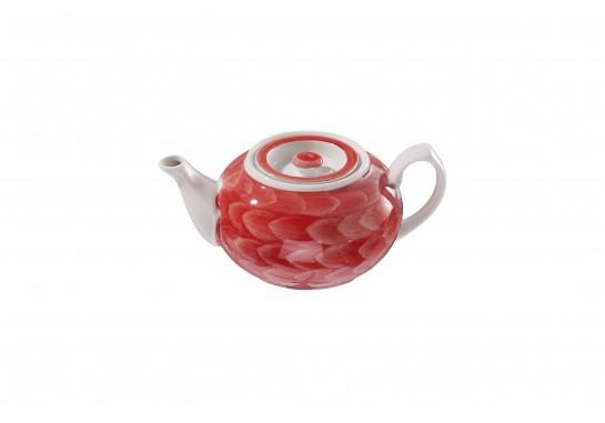 """Чайник """"Орел"""" (450мл) red  36(2)шт F0951-D-6 (акварель)"""