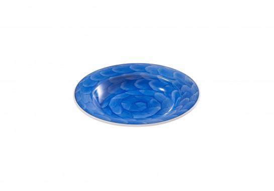 """Тарелка суповая глубокая 8"""" (20см, 200мл) cobalt 36(6)шт F2075-8-D-4 (акварель)"""