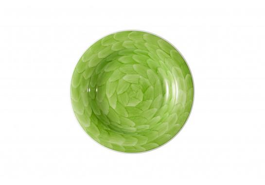 """Тарелка суповая глубокая 8"""" (20см, 200мл) lime 36(6)шт F2075-8-D-7 (акварель)"""