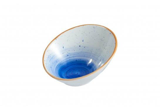 """Салатник круглый 7"""" (18см) cobalt 250 мл 32(4)шт F0271-7-A-4 (волна)"""