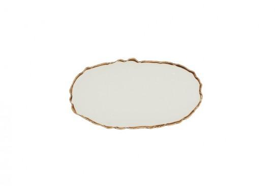 "Тарелка овальная 10"" (25х13,5 см)"