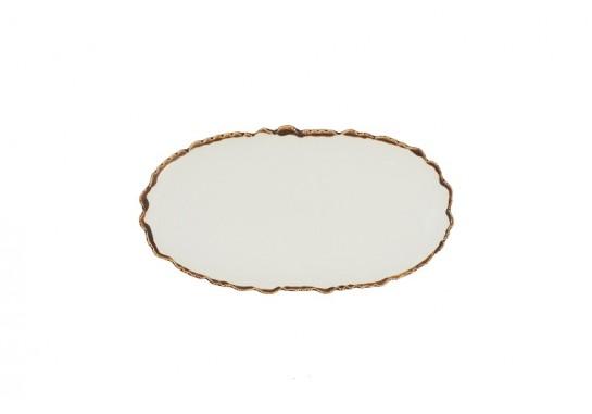 "Тарелка овальная 12"" (30,5х16см)"