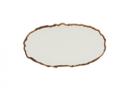 "Тарелка овальная 14"" (35х18,5 см)"