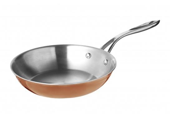 Сковорода с медным покрытием 20*4 см