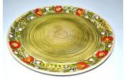 Блюдо зеленое 27 см