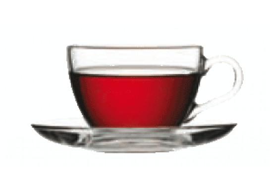 """Чашка чайная с блюдцем """"Basic"""" 215 см"""